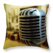 Sun Recordings Throw Pillow