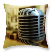 Sun Recordings Throw Pillow by JAMART Photography