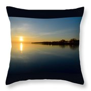 Sun Reflections  Throw Pillow