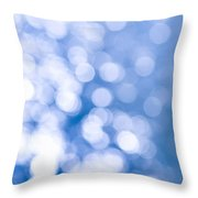 Sun Reflections On Water Throw Pillow