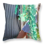 Sun Sand Surf Ondine Magazine Ireland Throw Pillow