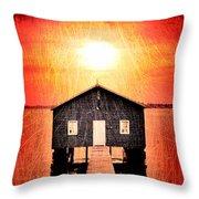 Sun Scars Throw Pillow