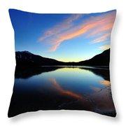 Sun Sets On Summer Throw Pillow