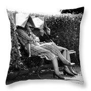 Sun-shades Throw Pillow