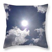 Sun Shine Throw Pillow