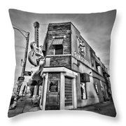 Sun Studio - Memphis #2 Throw Pillow