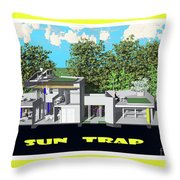 Sun Trap Section Throw Pillow