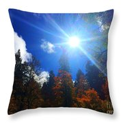 Sun Up Throw Pillow