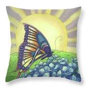 Sun Up Throw Pillow