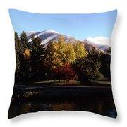Sun Valley Morning Throw Pillow