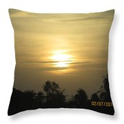 Sun View Throw Pillow