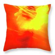 Sun Wind And Sunflower. Throw Pillow