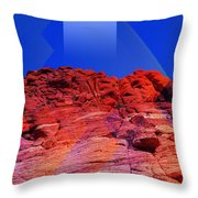 Sunbeam Throw Pillow by Michelle Dallocchio
