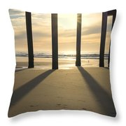 Sunbeams And Shadows Throw Pillow