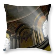 Sunbeams Heavenward Throw Pillow