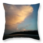 Suncloud Throw Pillow