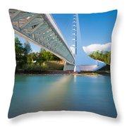 Sundial Bridge 1 Throw Pillow