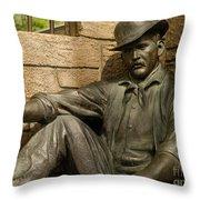 Sundance Kid Statue 6 Throw Pillow