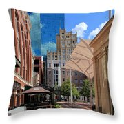 Sundance Square 5484mx Throw Pillow