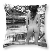 Sunday Afternoon By The River Throw Pillow