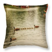 Sunday Afternoon In The Commons Throw Pillow