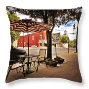 Sunday Brunch At Cafe35 Throw Pillow