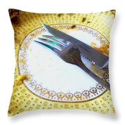 Sunday Dinner Is Over Throw Pillow