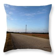 Sunday Drive Series Throw Pillow
