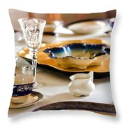Sunday Lunch With Grandma Throw Pillow