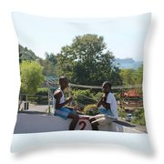Sunday Morn Throw Pillow