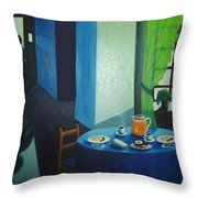 Sunday Morning Breakfast Throw Pillow