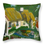 Sunday Morning In The Netherlands Throw Pillow