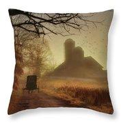 Sunday Morning Throw Pillow by Lori Deiter
