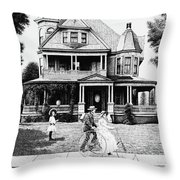 Sunday Morning Two Throw Pillow