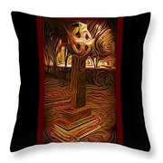 Sunday Mourning Throw Pillow