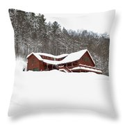 Sunday River Throw Pillow