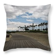 Sunday Stroll Throw Pillow