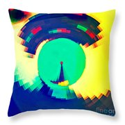 Sundial Of Emotions Throw Pillow