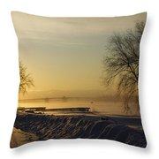 Sundog On The Bay Throw Pillow