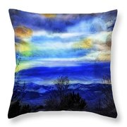 Sundown Overhead-2 Throw Pillow