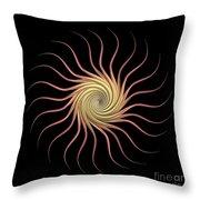 Sundroid Throw Pillow