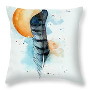Sunfeather Throw Pillow