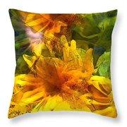 Sunflower 6 Throw Pillow