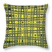 Sunflower #6595ew, Abstract, Throw Pillow