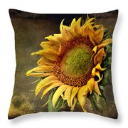 Sunflower Art 2 Throw Pillow