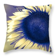 Sunflower Sunrise Throw Pillow