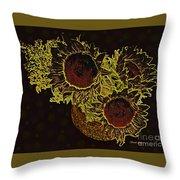 Sunflower Decor 10 Throw Pillow