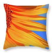 Sunflower Elegance Throw Pillow