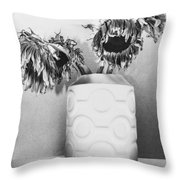 Sunflower Fall Throw Pillow
