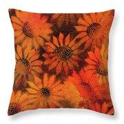 Sunflower Field 1.2 Throw Pillow